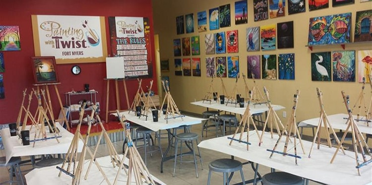 Painting With A Twist Gulf Coast Town Center